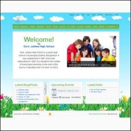 W~ordPress School Website